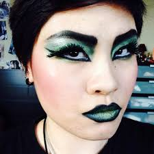 halloween makeup series wicked green witch youtube