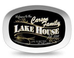 grill platter personalized personalized pub platter personalized melamine serving