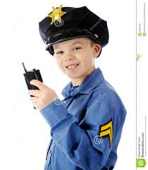 walkie talkie cop closeup royalty free stock image image 30655836
