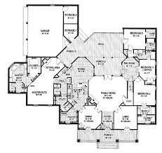 4 Bedroom Single Story Floor Plans 11 Best Floor Plans Images On Pinterest House Floor Plans Dream
