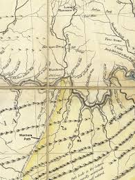 A Map Of Virginia by 1778 Hutchinson Map Of