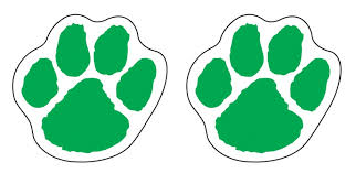 adhesives bc8 tiger paw dk green fan a peel temporary sticker