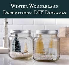 Winter Wonderland Centerpieces Winter Wonderland Decorations Diy Dioramas Diycandy Com