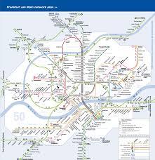 Map Of Frankfurt Germany by Germany Frankfurt Metro Mapa Metro