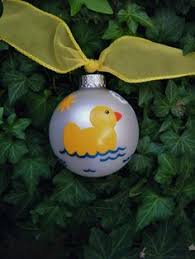 duck ornament ceramic duckling yellow baby duck best of etsy