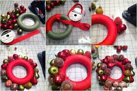 how to make wreaths how to make an ornament wreath rosyscription