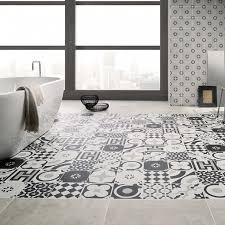 Bathroom Tile Black And White - cementine black u0026 white tropical tile u0026 marble