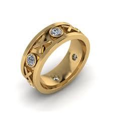 custom wedding bands xo diamond custom wedding band the goldsmiths ltd