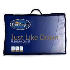 What Does 10 5 Tog Duvet Mean Silentnight Just Like Down 10 5 Tog Duvet Double Ebay