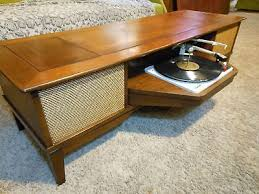 Antique Record Player Cabinet Console Table Ideas New Old Vintage Etsy Media Record Player