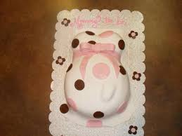 shower cakes from cinderella bakery pregnant belly bump cake
