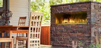 Yellow Fireplace Palazzo Gas Fireplace