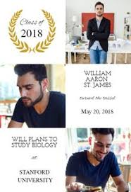 announcements for graduation free 2018 graduation announcement templates greetings island