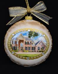new home ornament personalized christmas ornamentphoto