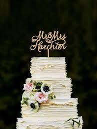 mrs mrs cake topper last name wedding cake topper personalised mr and mrs cake topper