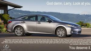 old lexus sedan what car ads are really saying satire hyundi pinterest