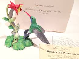 lenox broad billed hummingbird lenox garden bird collection
