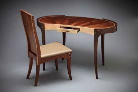 Wooden Home Office Furniture by Small Wood Writing Desk Home Office Furniture Collections