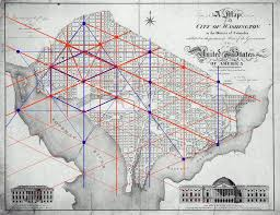 big washington dc map masonic and kabbalistic symbols in the washington d c map