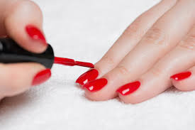 how to avoid getting nail polish on the sides of your fingers