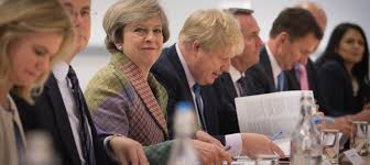 Cabinet Responsibilities Theresa May Reprimands Cabinet Leakers For U0027not Taking