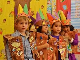 thanksgiving children to