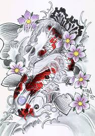 kumpulan ikan 2000 japanese koi fish tattoo designs gallery