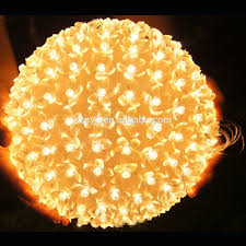 hanging outdoor lighted balls outdoor lighting