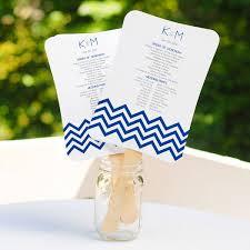 diy wedding program fans kits buy diy wedding program fans scroll fan program kit online