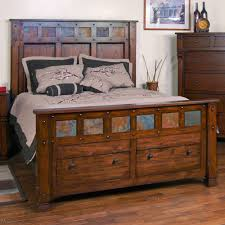 Wood Double Bed Designs With Storage Images Mission Hills Wood Captain Platform Bed In Harvest Humble Abode