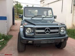 mercedes g wagon india u0027s first force gurkha to mercedes g wagen conversion in images
