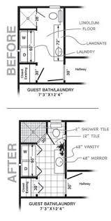 Small Bath Floor Plans The 25 Best Laundry Bathroom Combo Ideas On Pinterest Bathroom