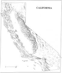 Zip Code Map California by California Map Outline Free Download Clip Art Free Clip Art