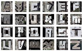 letters from a satellite google maps images of new york buildings