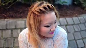 Hairstyles For Round Faced Girls by Front Hairstyle For Round Face Dailymotion Best Hairstyle Photos