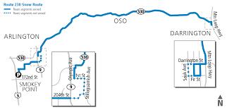 Map Of Alderwood Mall Monday Feb 2 Snow Route Status