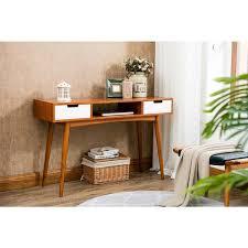 mid century console table porthos home jillian mid century console table free shipping today