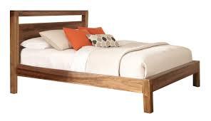Wood Panel Bed Frame by Peyton King Panel Bed In Natural Brown 203651ke