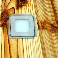 Outdoor Led Recessed Lighting by Aliexpress Com Buy 6pcs Set 12v 0 6w Ip67 Square Outdoor Led