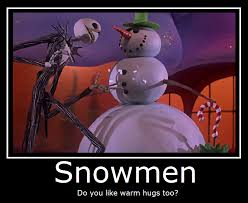 Nightmare Before Christmas Meme - the nightmare before christmas snowmen by masterof4elements on