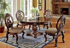 traditional round glass dining table dresden round glass top table set