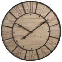 Chaise Industrielle En M C3 A9tal Par Henri Horloge Murale Bois Achat Horloge Murale Bois Pas Cher Rue Du