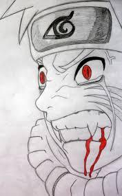 chibi naruto drawings pencil