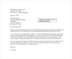 collection of solutions sample follow up letter to employer after