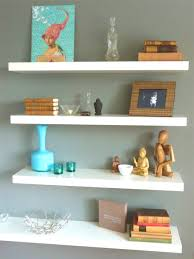 accessories wall shelf ideas for living room wall shelves design