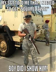 Military Police Meme - outofregs archives squared away military humor pinterest