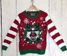 ugly christmas sweater with lights light up christmas sweater ebay