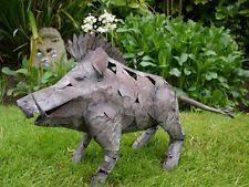 pig metal garden statues lawn ornaments ebay