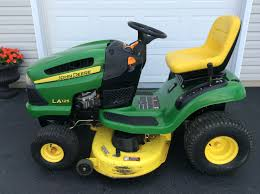 john deere 100 series riding lawn mower youtube