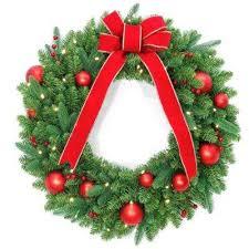 battery wreaths garland decorations
